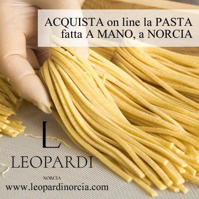 Pasta Leopardi Norcia